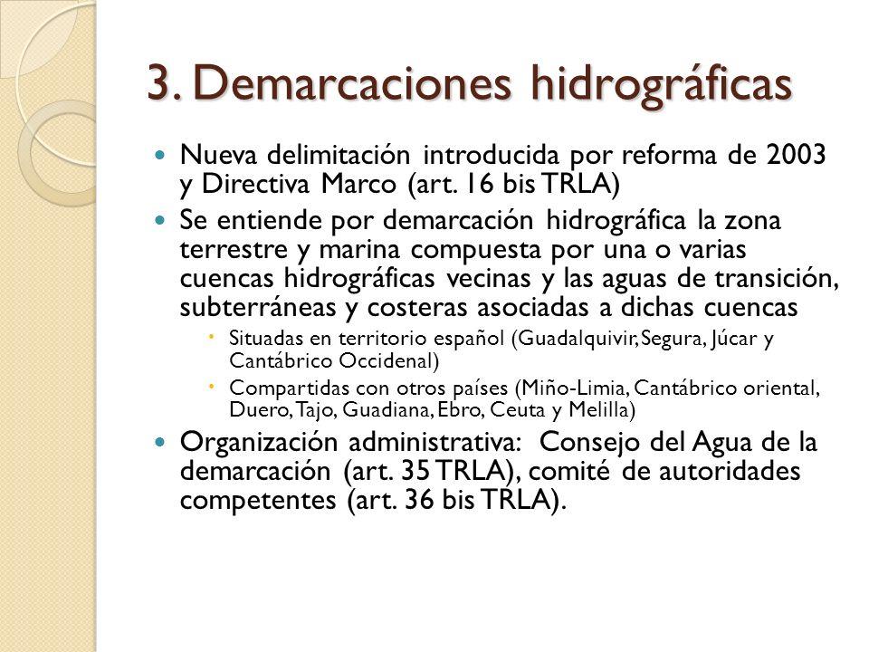 3. Demarcaciones hidrográficas