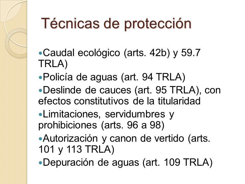 Técnicas de protección
