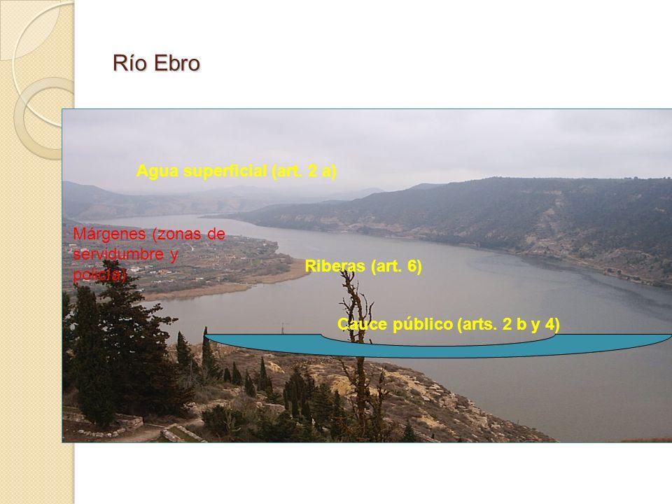 Río Ebro Agua superficial (art. 2 a)