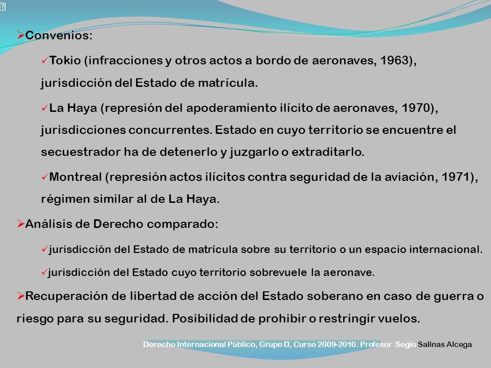Análisis de Derecho comparado:
