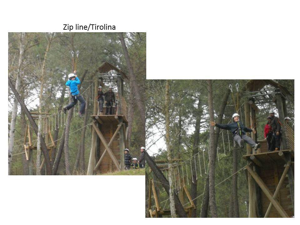 Zip line/Tirolina