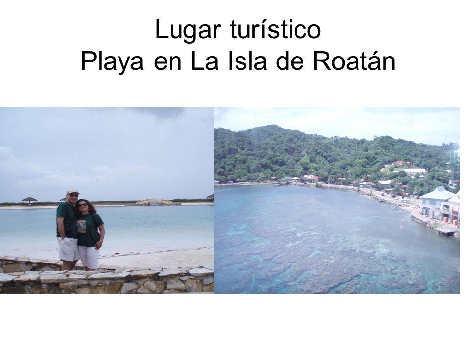 Lugar turístico Playa en La Isla de Roatán