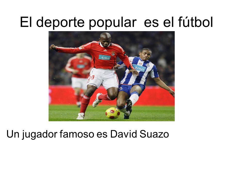El deporte popular es el fútbol