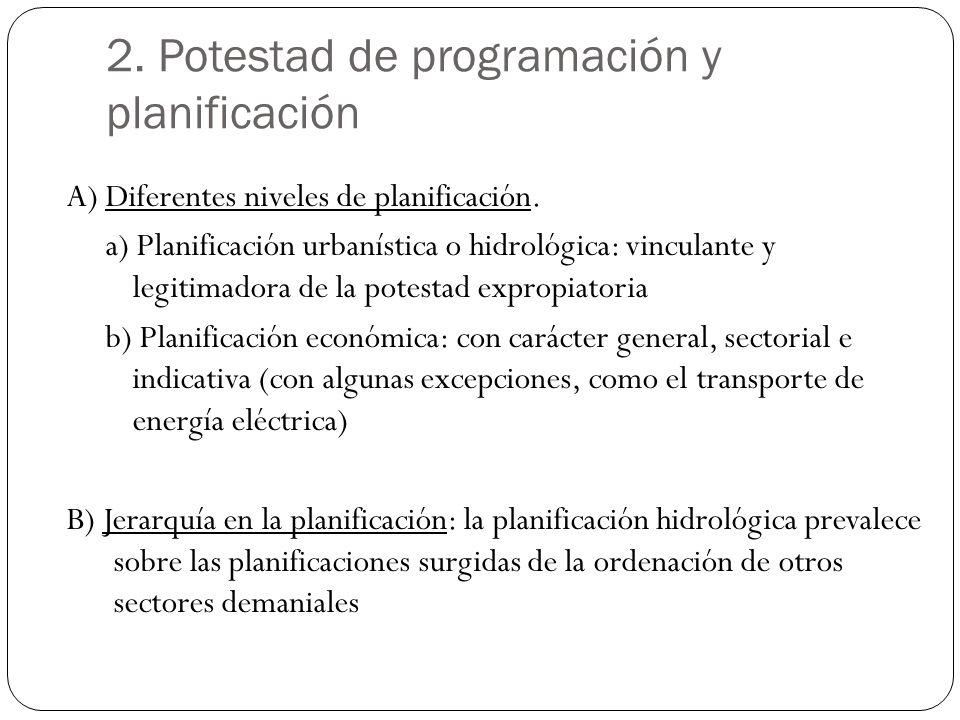 2. Potestad de programación y planificación