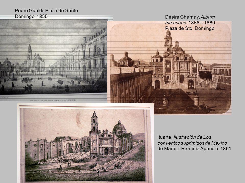 Pedro Gualdi, Plaza de Santo Domingo, 1835