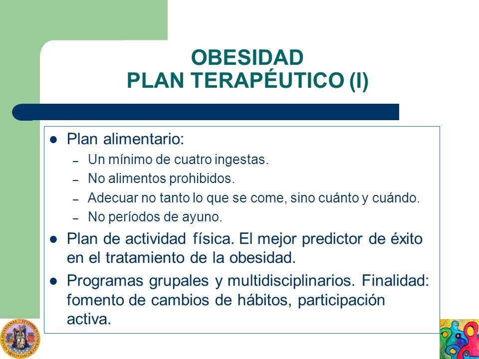 OBESIDAD PLAN TERAPÉUTICO (I)