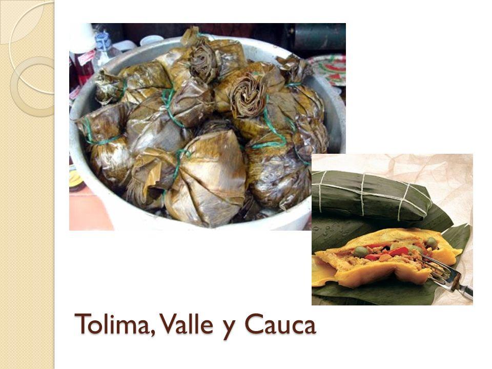 Tolima, Valle y Cauca