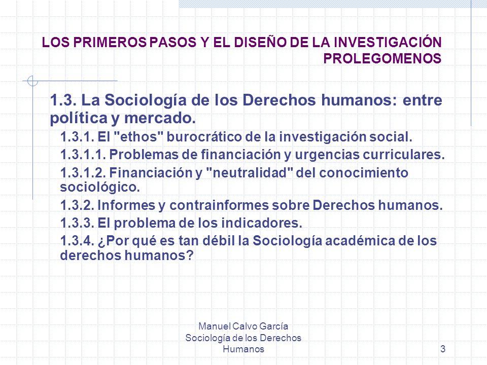LOS PRIMEROS PASOS Y EL DISEÑO DE LA INVESTIGACIÓN PROLEGOMENOS