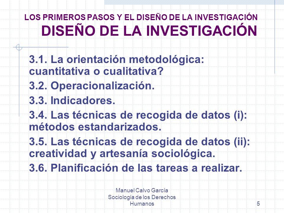 Manuel Calvo García Sociología de los Derechos Humanos