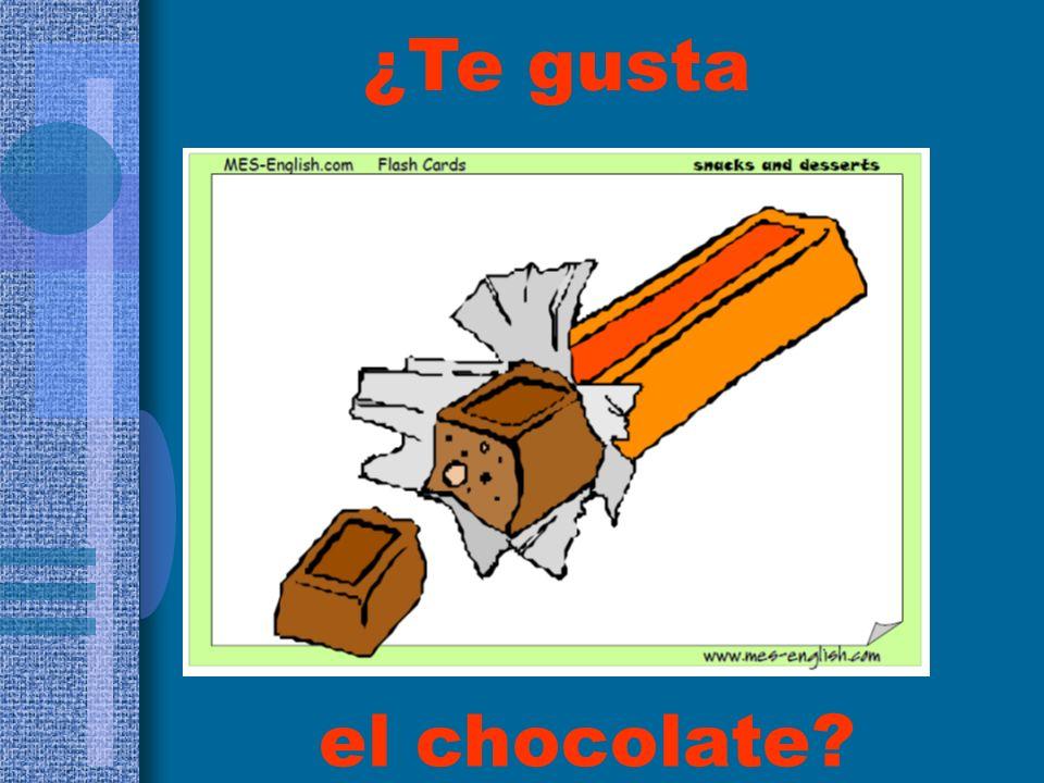 ¿Te gusta el chocolate