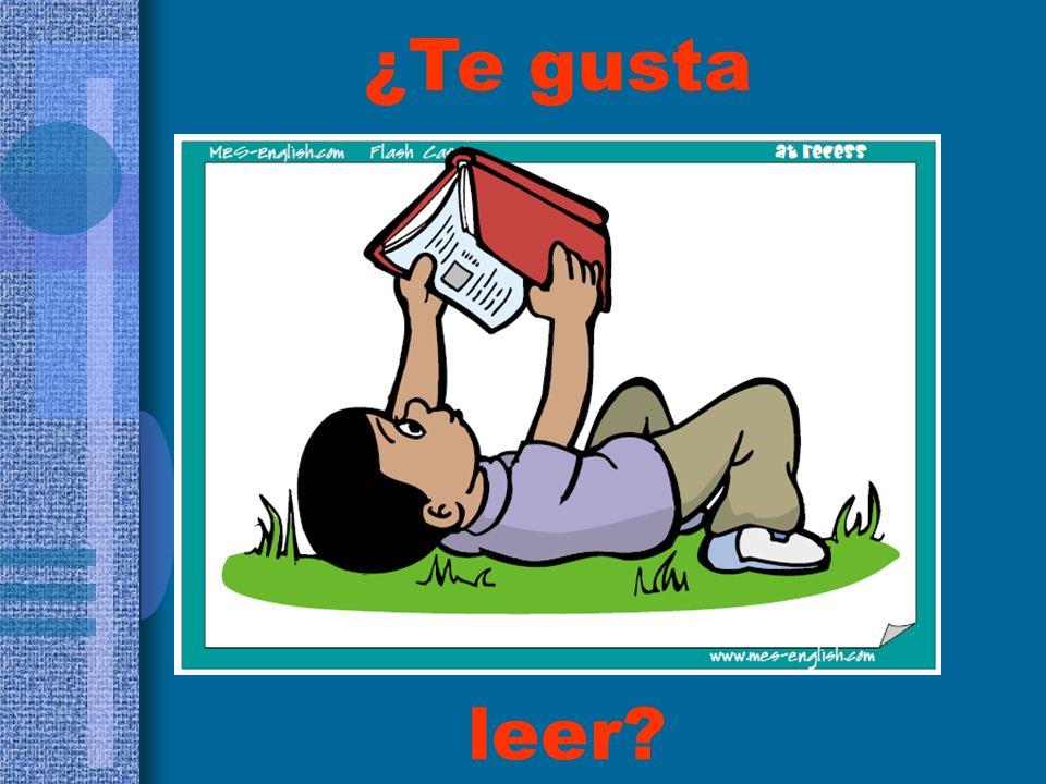 ¿Te gusta leer