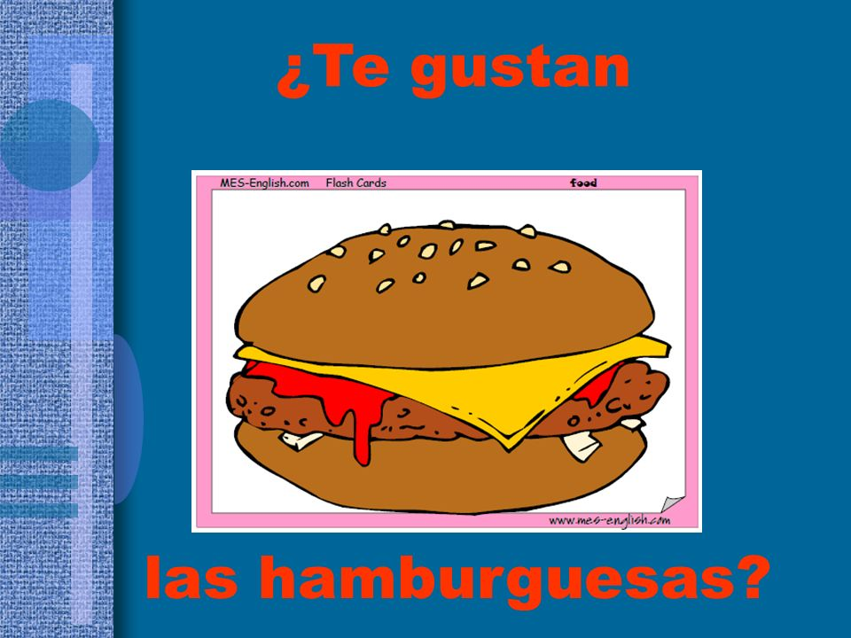 ¿Te gustan las hamburguesas