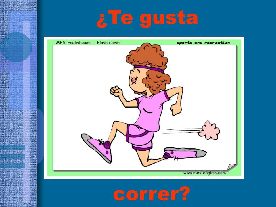 ¿Te gusta correr