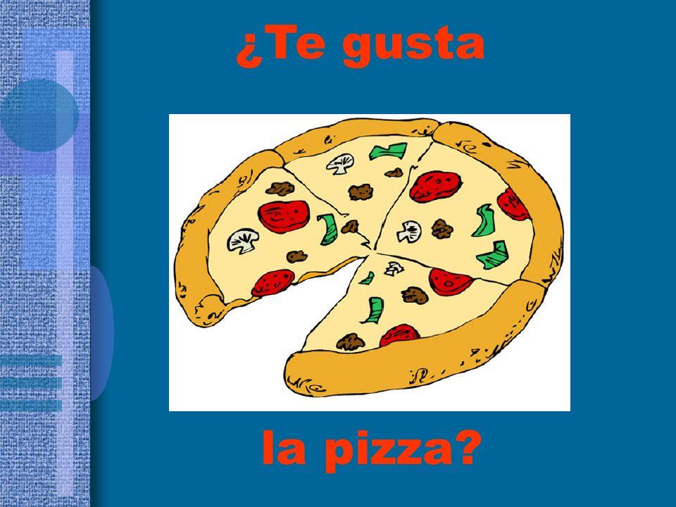 ¿Te gusta la pizza