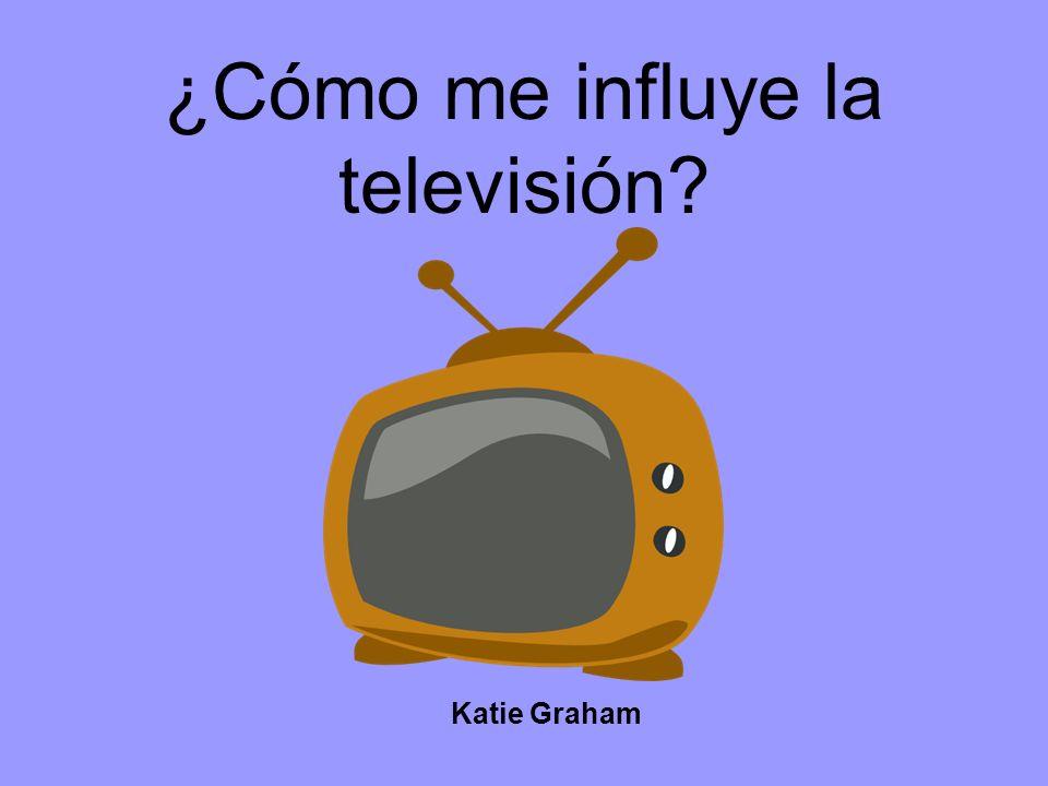 ¿Cómo me influye la televisión