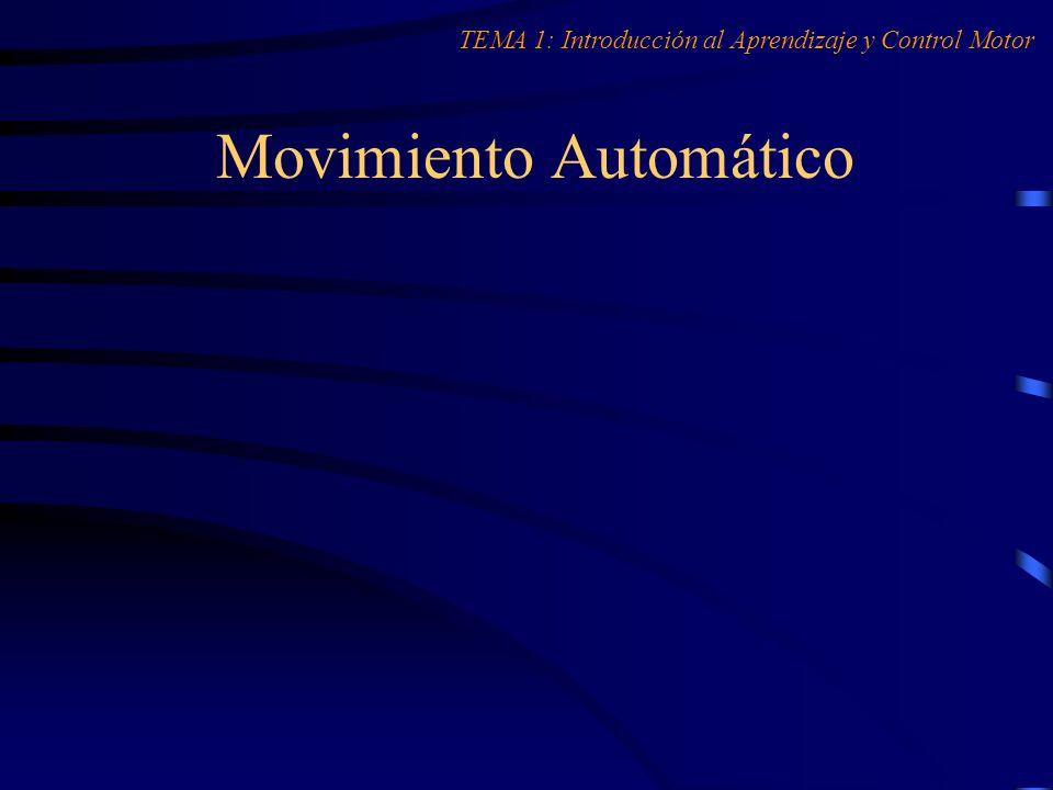 Movimiento Automático