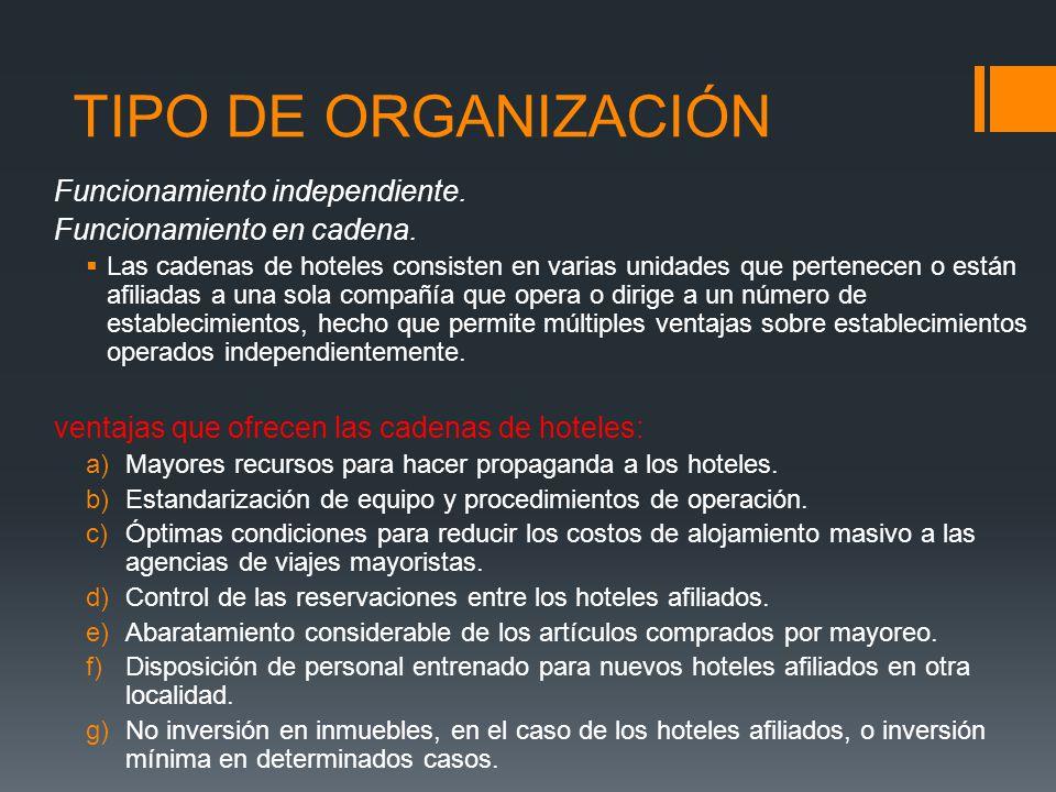 Servicios turisticos servicio de alojamiento ppt descargar for Manual de procedimientos de alimentos y bebidas de un hotel