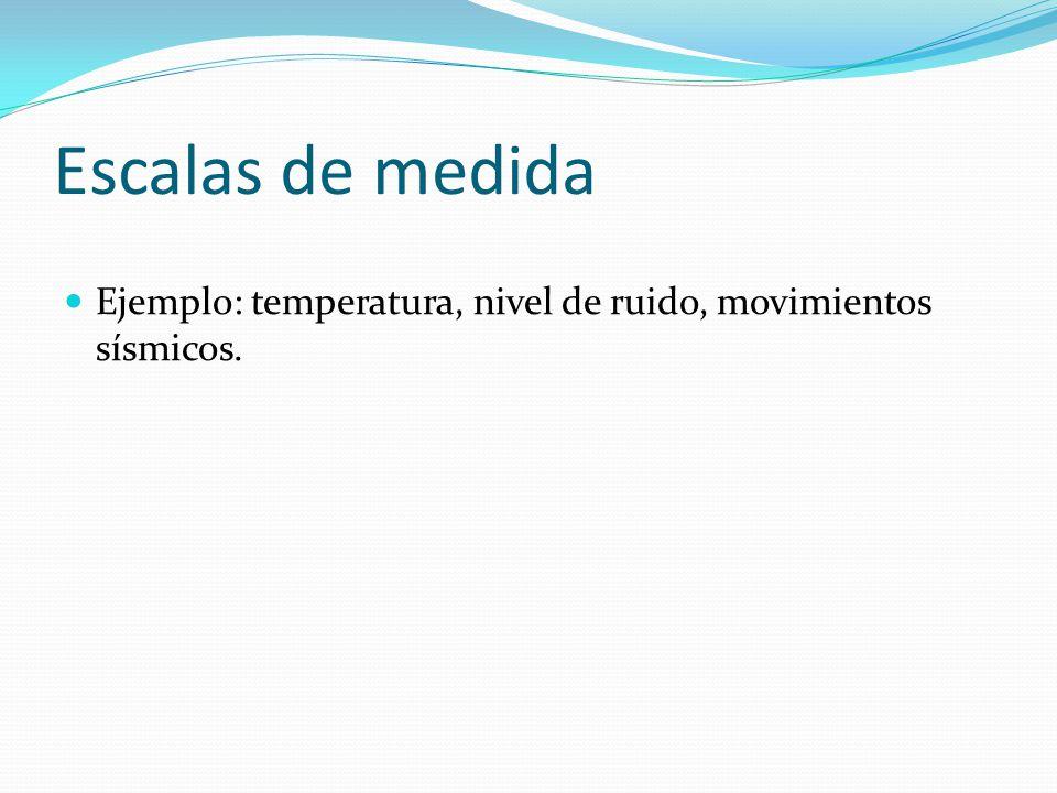 Unidad iii conceptos b sicos de estad stica ppt descargar for Escala de medidas