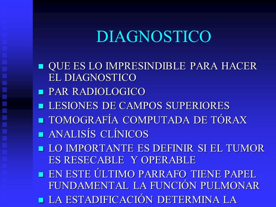 DIAGNOSTICO QUE ES LO IMPRESINDIBLE PARA HACER EL DIAGNOSTICO