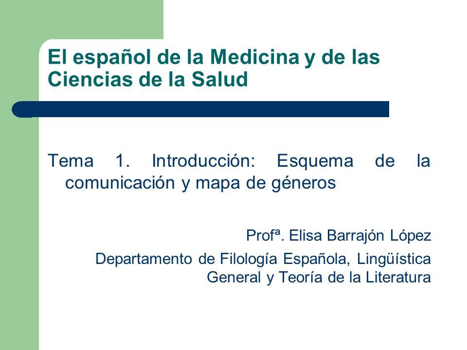 El español de la Medicina y de las Ciencias de la Salud
