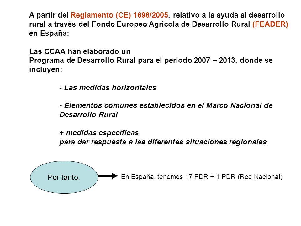 Las CCAA han elaborado un
