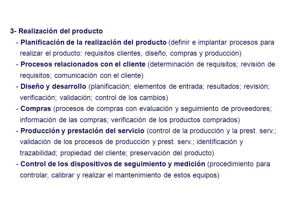 3- Realización del producto