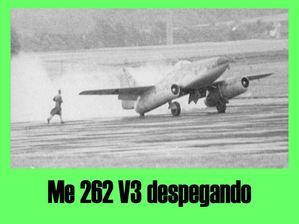 Me 262 V3 despegando