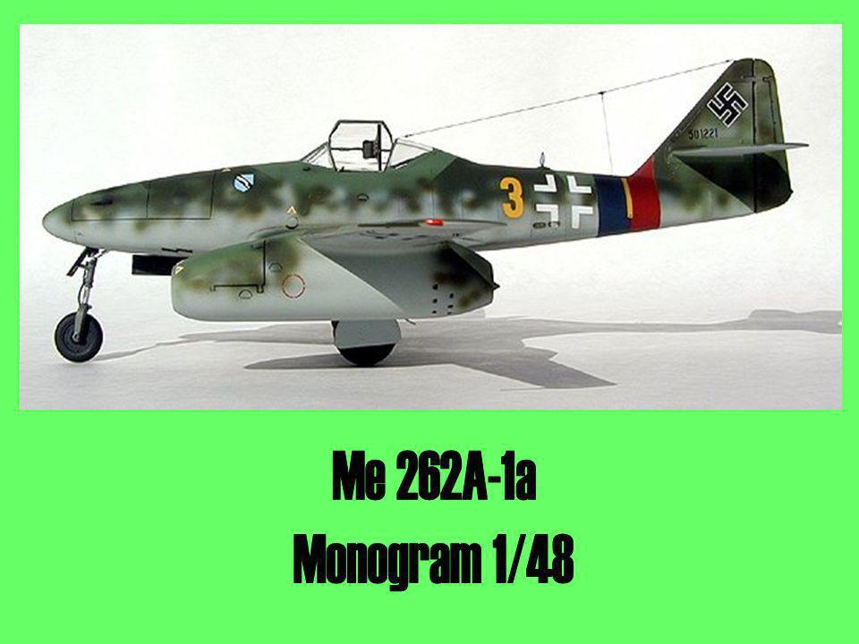 Me 262A-1a Monogram 1/48