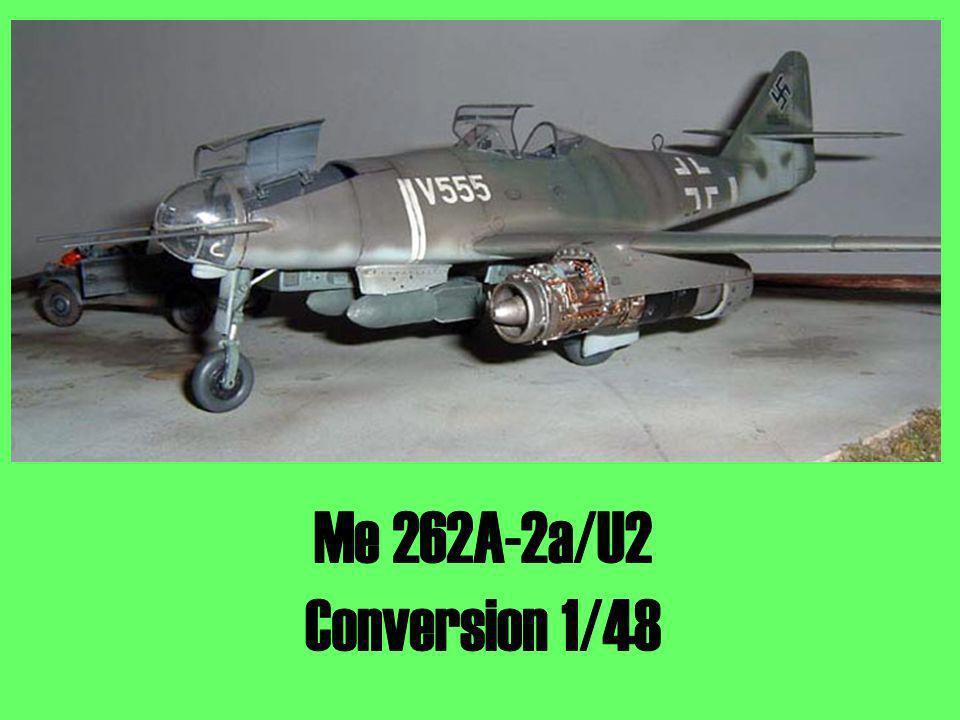 Me 262A-2a/U2 Conversion 1/48