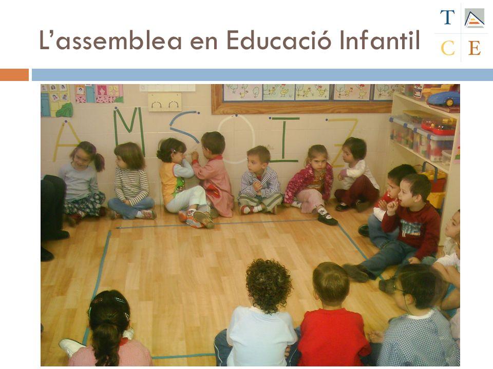 L'assemblea en Educació Infantil