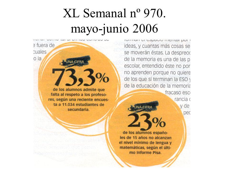 XL Semanal nº 970. mayo-junio 2006