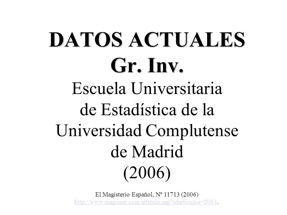 El Magisterio Español, Nº 11713 (2006)