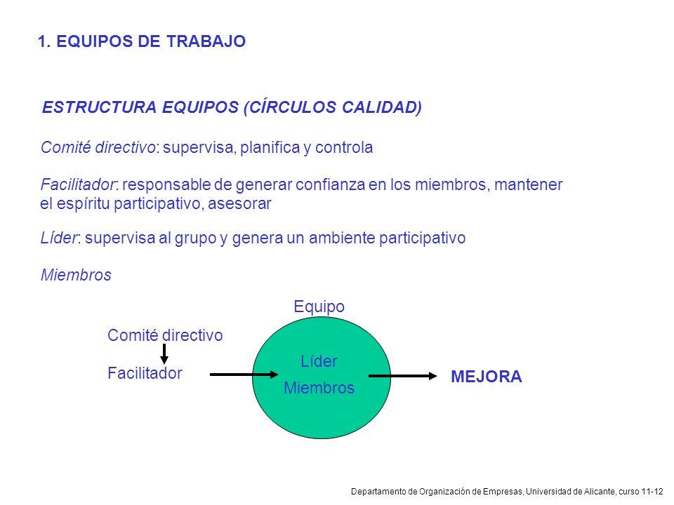 ESTRUCTURA EQUIPOS (CÍRCULOS CALIDAD)