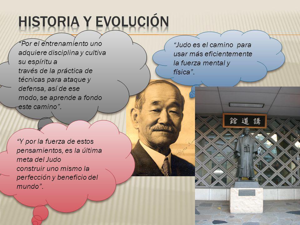 HISTORIA Y EVOLUCIÓN Por el entrenamiento uno adquiere disciplina y cultiva su espíritu a.