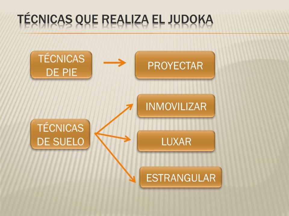 TÉCNICAS QUE REALIZA EL JUDOKA