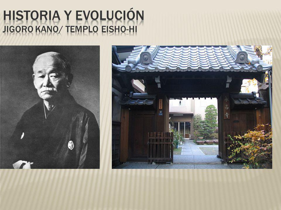 HISTORIA Y EVOLUCIÓN Jigoro Kano/ Templo eisho-hi