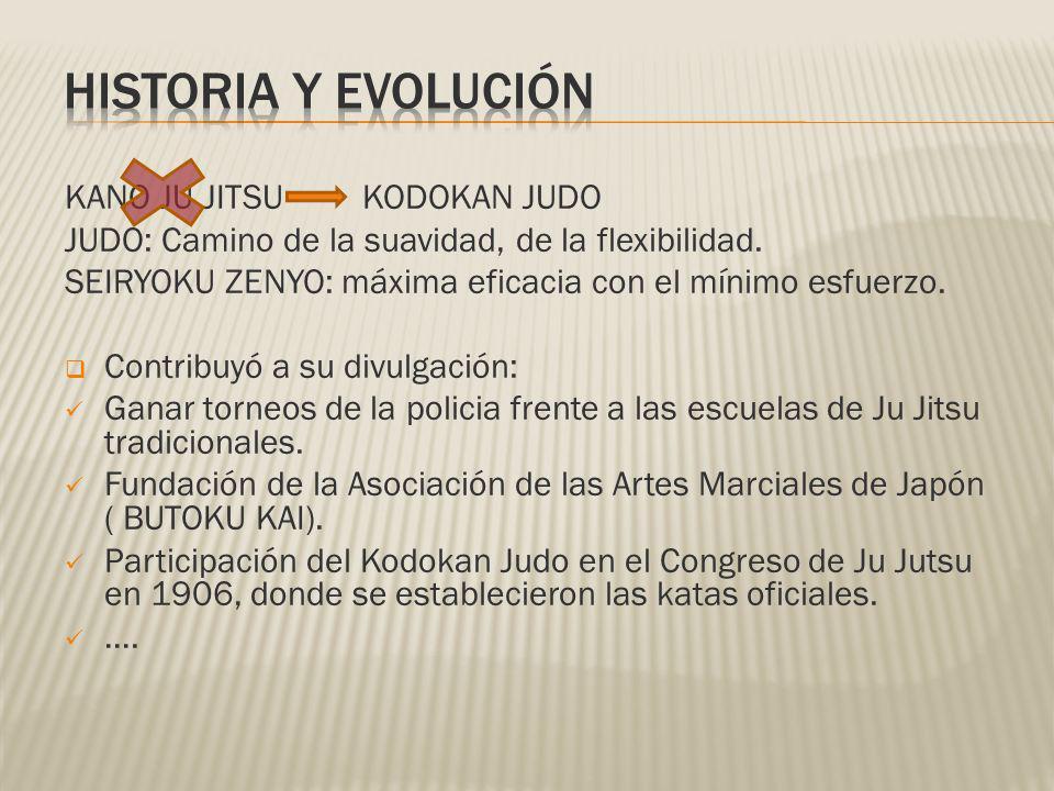 HISTORIA Y EVOLUCIÓN KANO JU JITSU KODOKAN JUDO