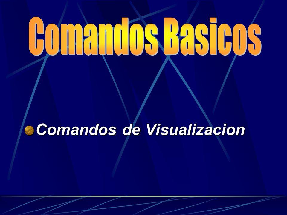 Comandos de Visualizacion
