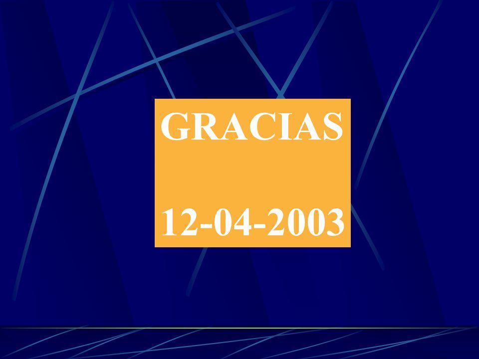 GRACIAS 12-04-2003