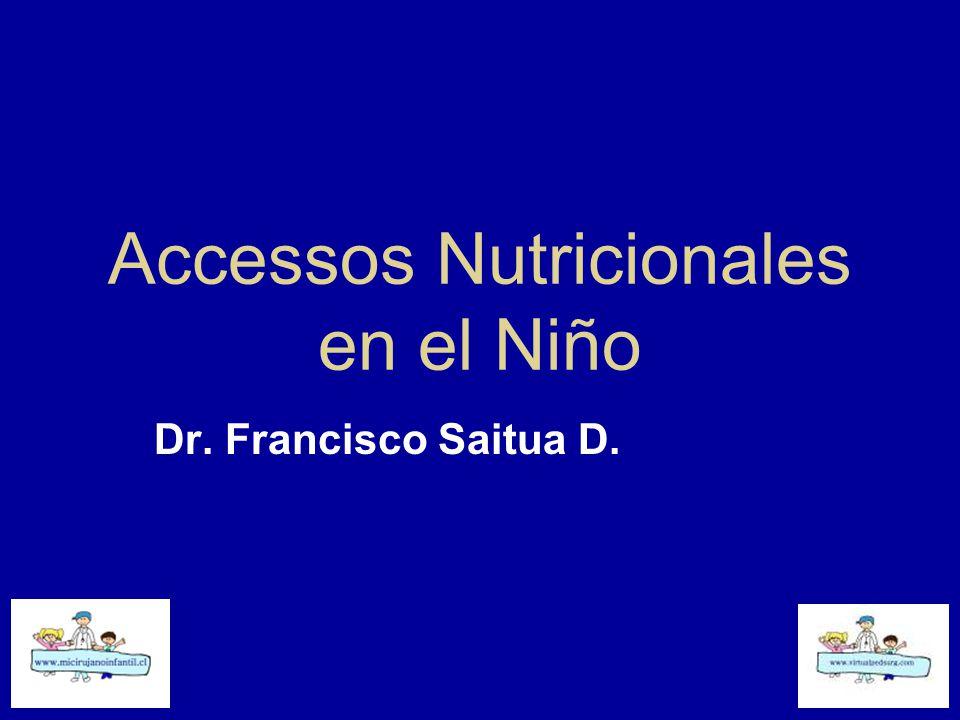 Accessos Nutricionales en el Niño