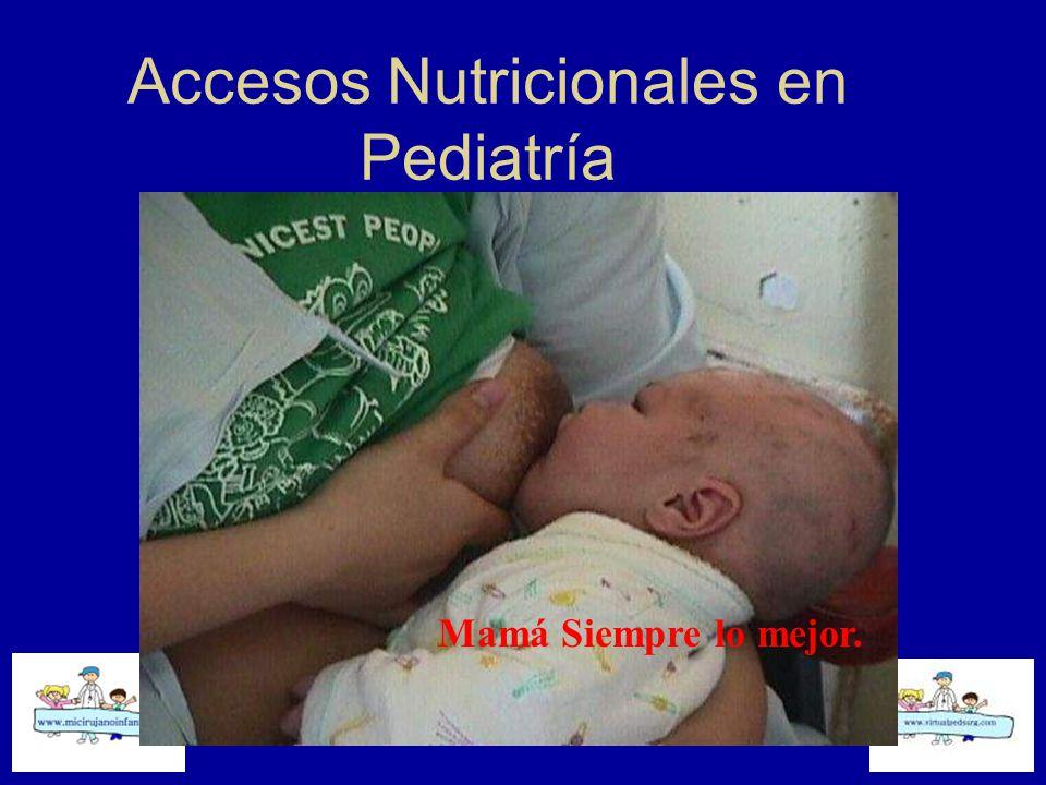 Accesos Nutricionales en Pediatría