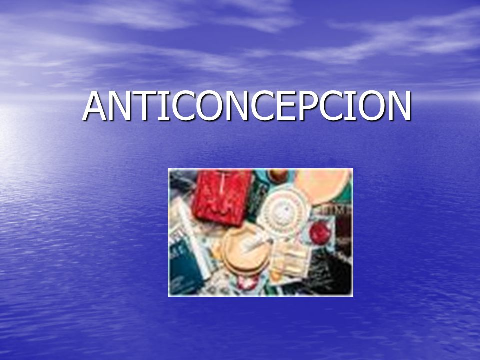 ANTICONCEPCION