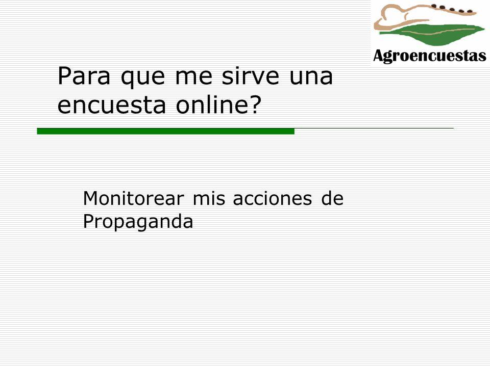 Para que me sirve una encuesta online