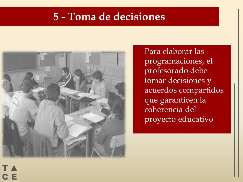 5 - Toma de decisiones