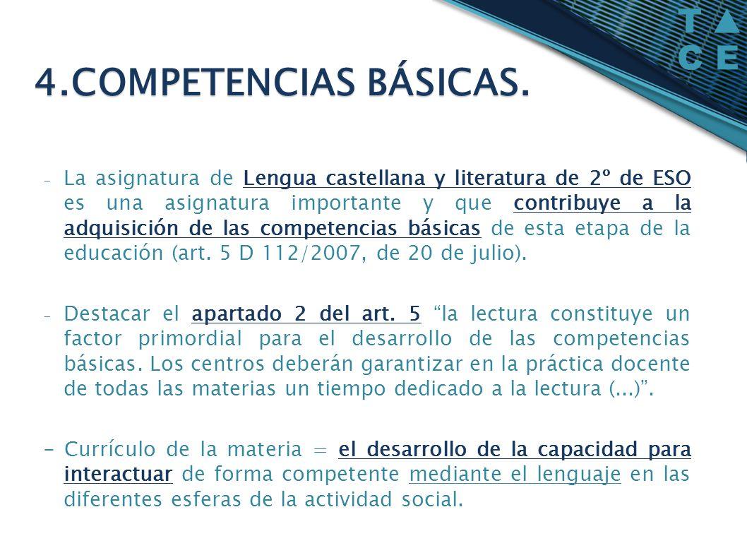 4.COMPETENCIAS BÁSICAS.