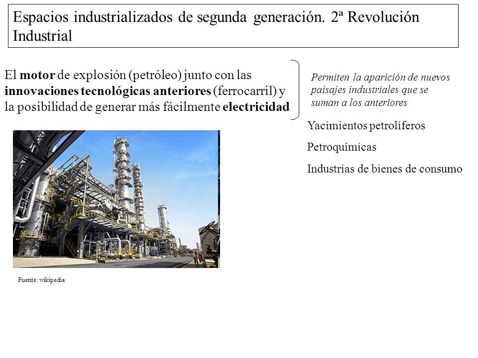 Espacios industrializados de segunda generación