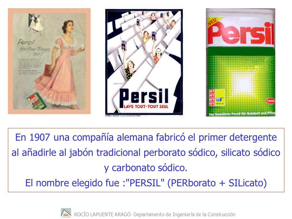 El nombre elegido fue : PERSIL (PERborato + SILicato)