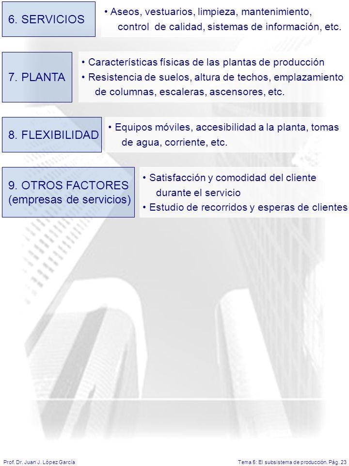 (empresas de servicios)