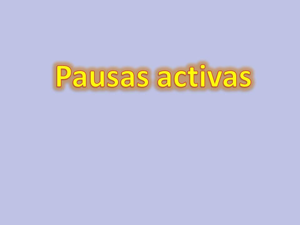 Pausas activas