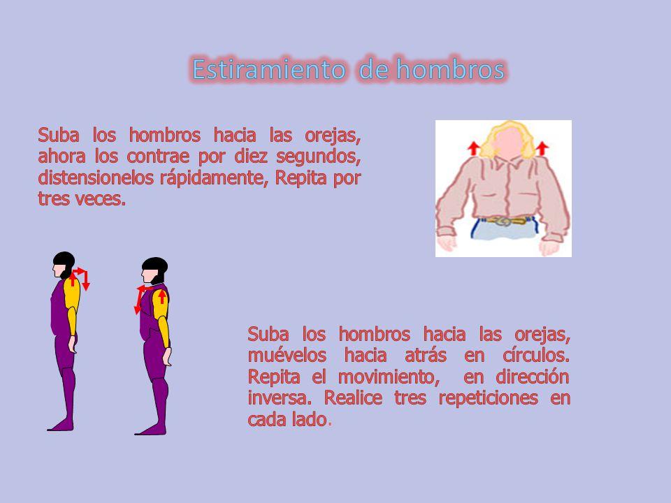 Estiramiento de hombros
